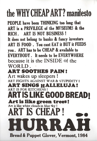 why-cheap-art-manifesto