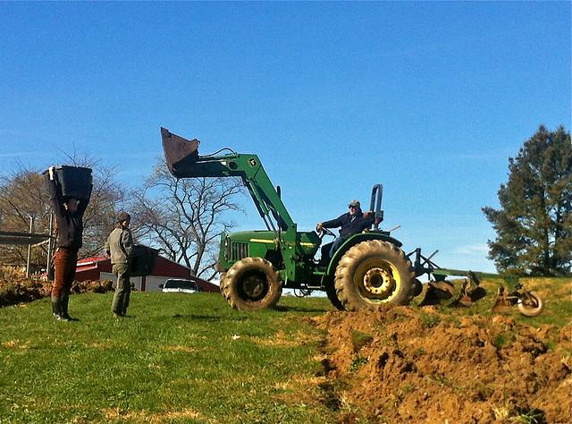 moldboard plow at HGC farm - 4