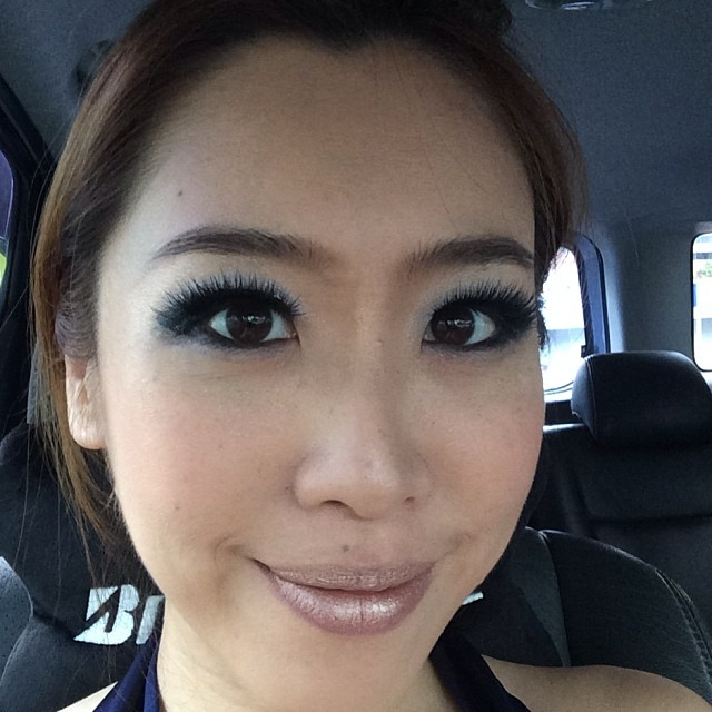 #Makeup done, now going to get my hair done. #suntec #sha #933
