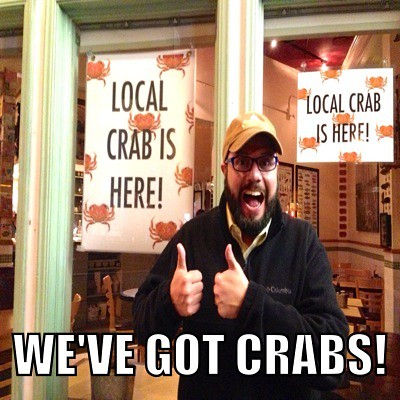 We've got crabs!