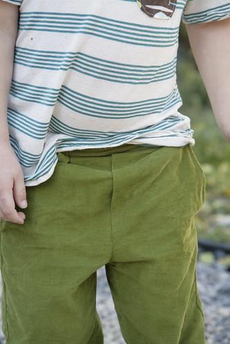 Art Museum Trouser - details