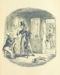 """British Library digitised image from page 247 of """"The Struggle and Adventures of Christopher Tadpole ... With 26 etchings by J. Leech, and a biographical sketch of the author [by Edmund Yates]"""""""