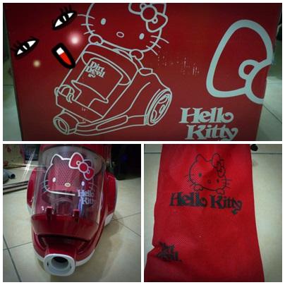 【家電】Dirt Devil超級卡挖伊的Hello Kitty吸塵器