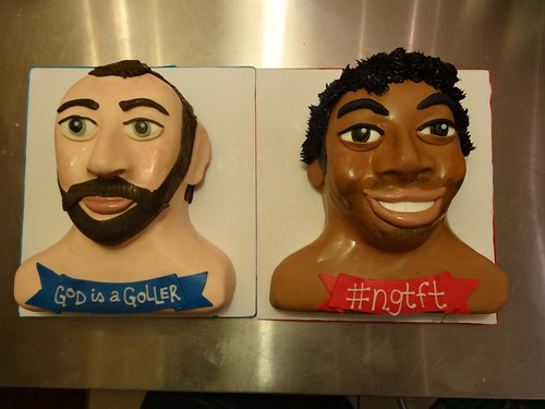 Mike and Liam by CAKE Amsterdam - Cakes by ZOBOT