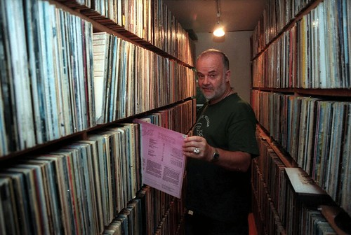 John Peel at home