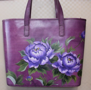 가죽공예-동양화 백(Leather craft-Oriental Painting Bag)