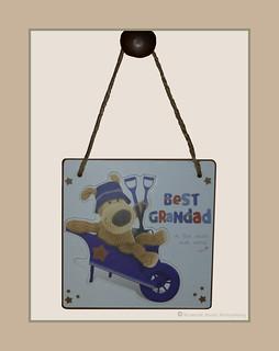 A Plaque For Granddad