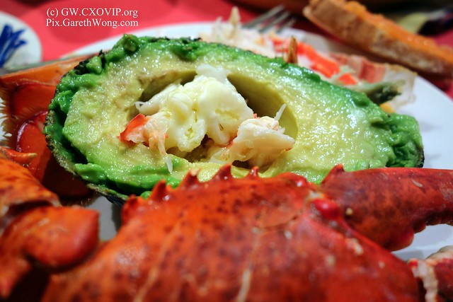 gorgeous lobster avocado salad from RAW _DSC8847
