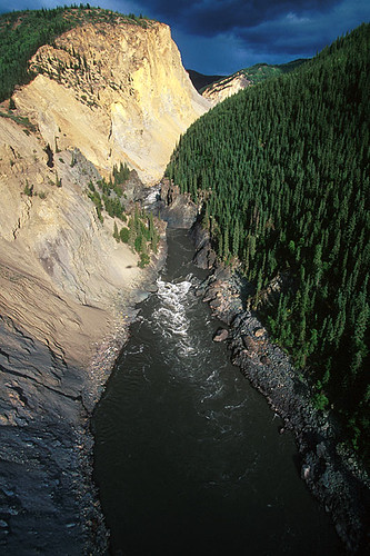 Stikine River Canyon, Northwest British Columbia, Canada