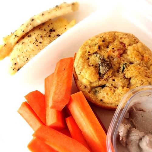 turbot and sriracha muffins