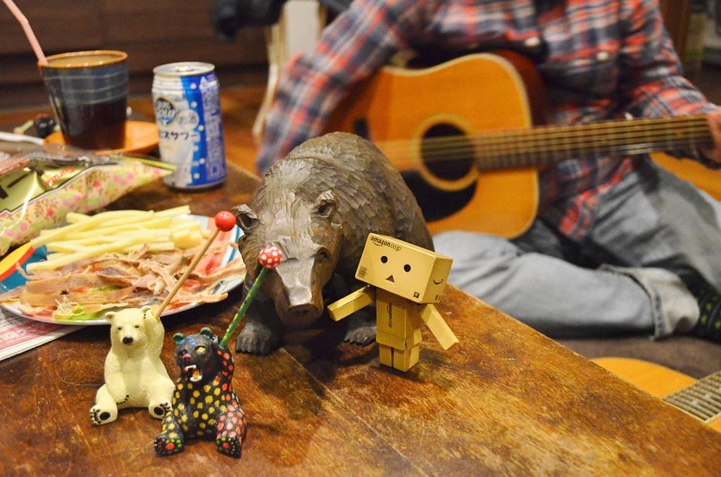 Gさん誕生日サニー家ギター教室。 (9)