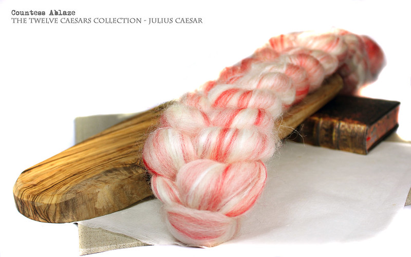 Custom blend fibre from Countess Ablaze