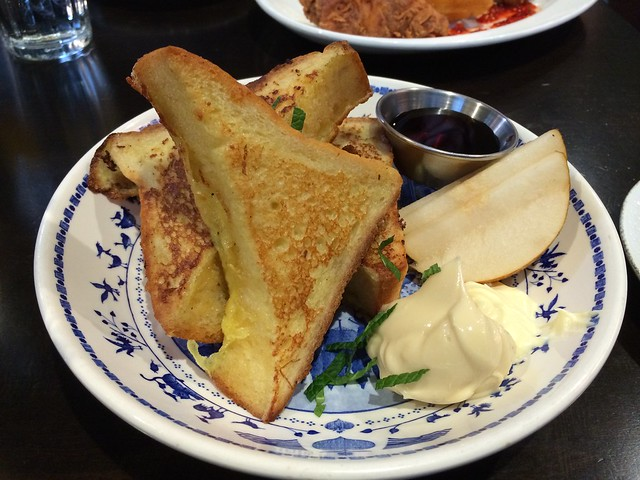 French toast - Mission Bowling Club