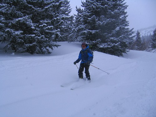 Rick Skiing Mount Saint Vrain