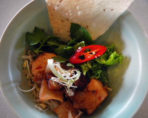 Cau Lao Pork Noodle Dish, a Hoi An Speciality