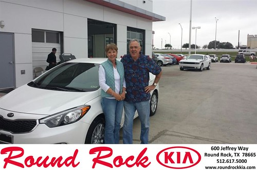Thank you to Alan  Alloway on your new 2013 #  #  from Greg  Galindo and everyone at Round Rock Kia! by RoundRockKia