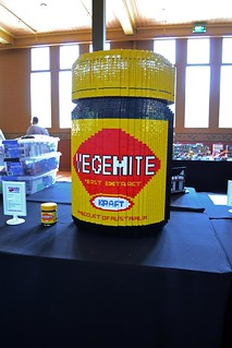 Family-sized Vegemite jar by Karryn