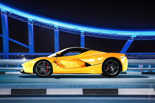 LaFerrari Yellow Spider