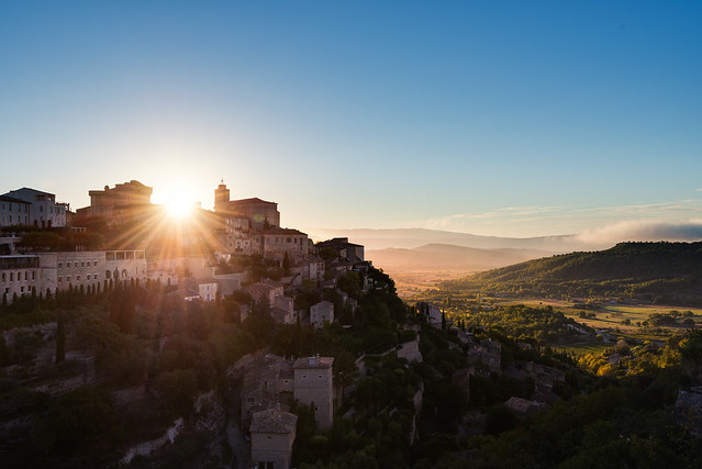 Another Gordes Sunrise