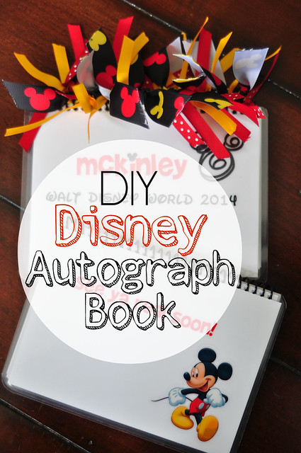 DIY Disney Autograph Book