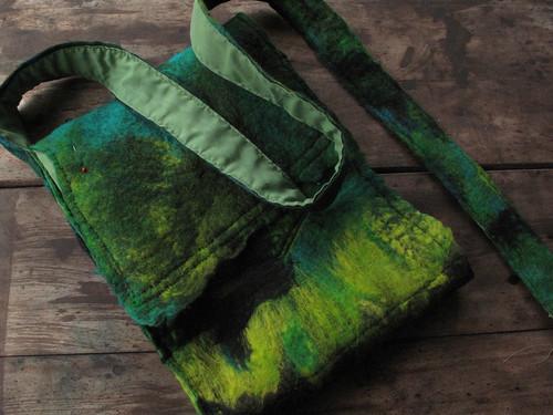 caribbean bag in progress