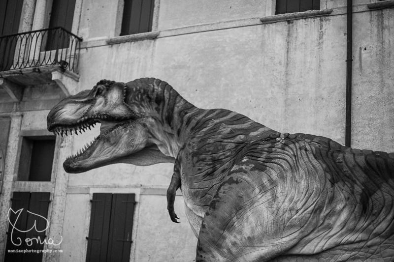 TRex dinosaure à Bassano