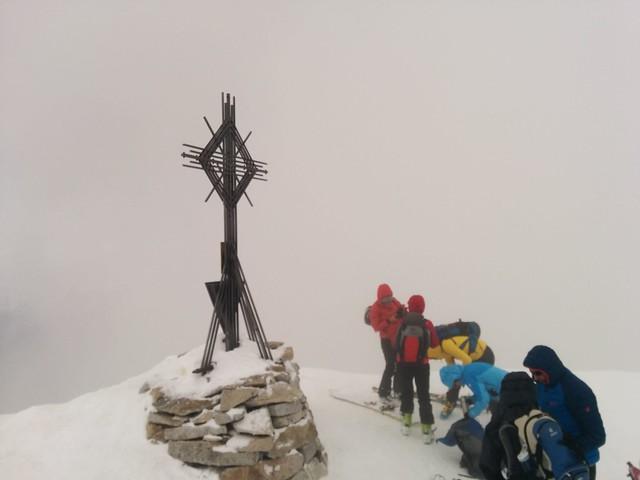 Gipfelkreuz Magerstein 3.273 m