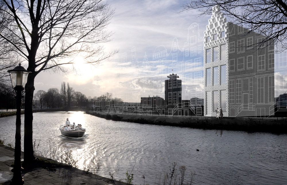3D Print Canal House, DUS Architects