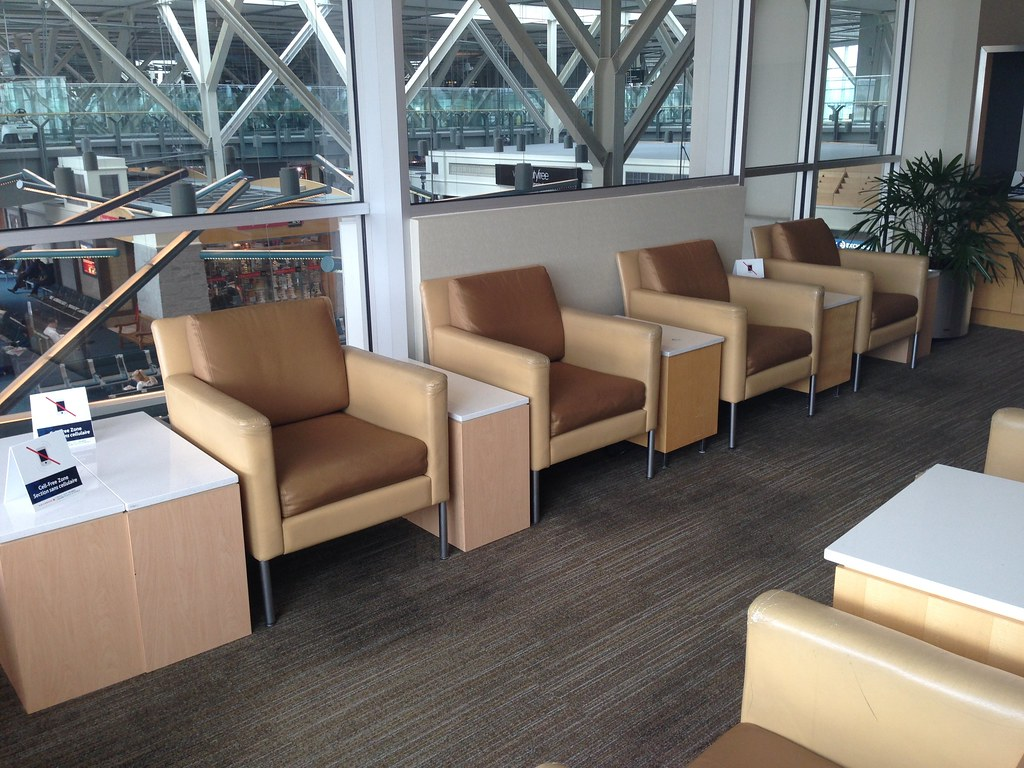 Cell-free seating area