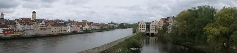 P4150123 Pano Centro histórico de Ratisbona y Stadtamhof UNESCO Alemania