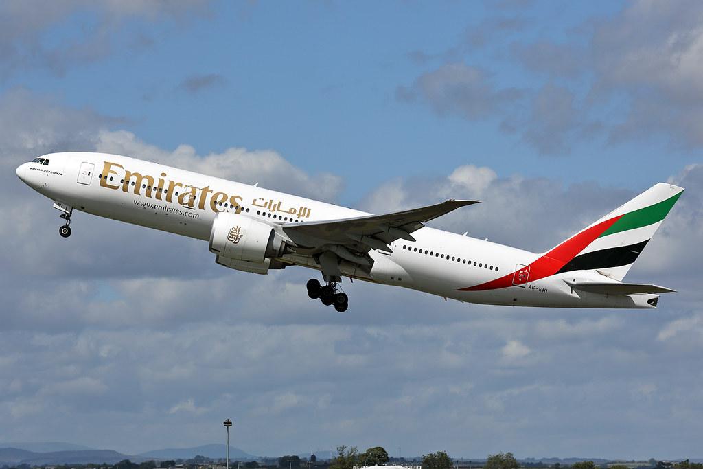 A6-EWI - B77L - Emirates