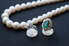 turquoise, pearl, jewellery, gemstone, silver, necklace, bead,