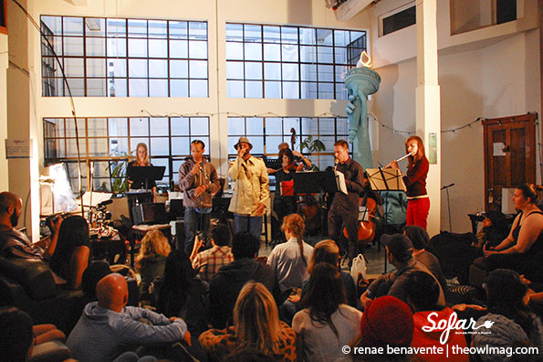 Ensemble Mik Nawooj @ Sofar Sounds, SF 5/19/14