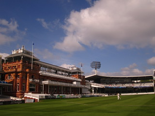 The home of Cricket, Lords, London.