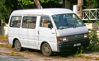 1990 Ford Econovan window van (modified)