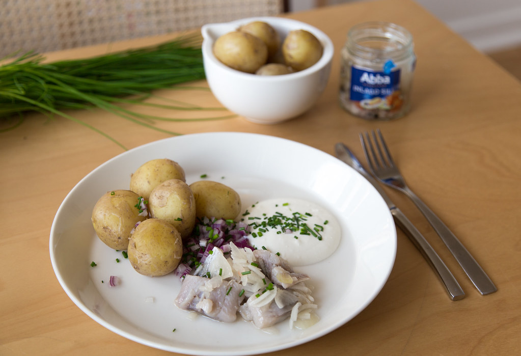 Swedish food for the summer