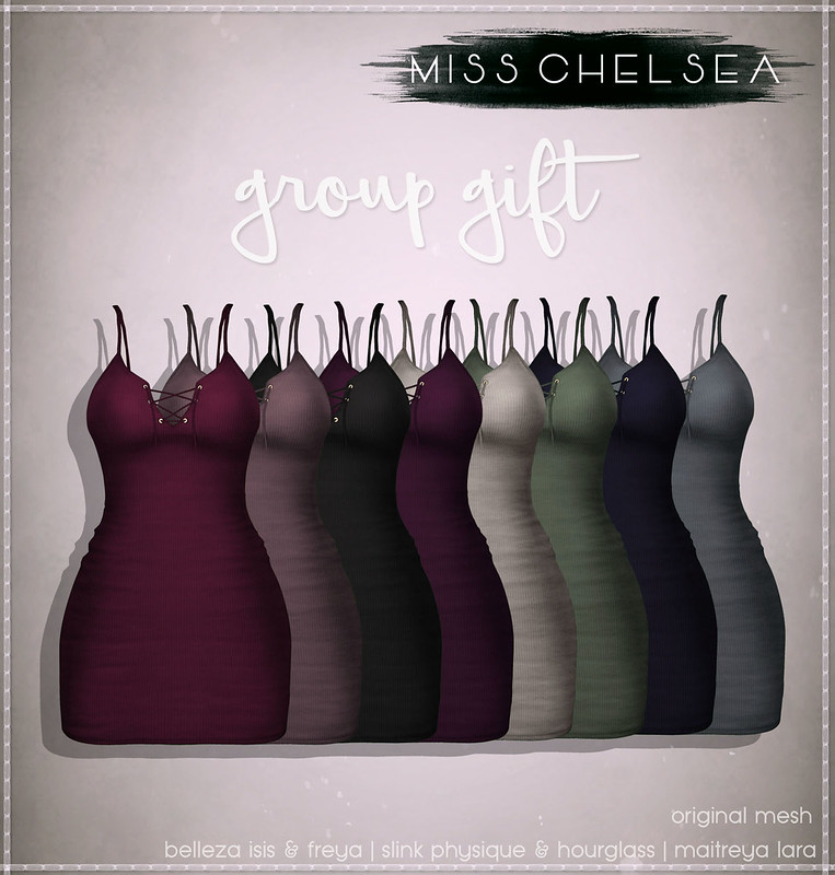 .miss chelsea. hali dress - group gift @ the main store now!