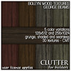 Clutter for Builders - Boleyn Wood Textures George Beams