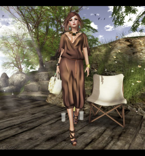 GizzA - Jumpsuit - Brown