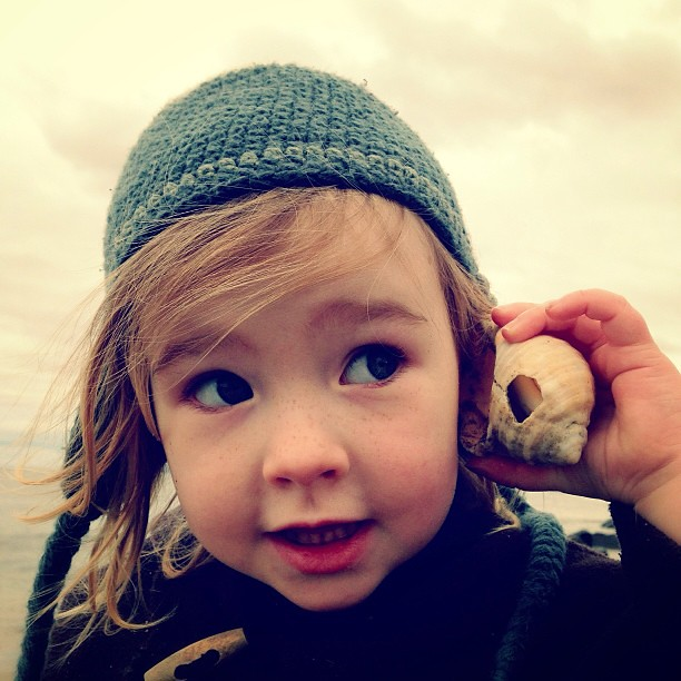 Ocean Sounds. || #winterwalks #oceanwonder #seashell
