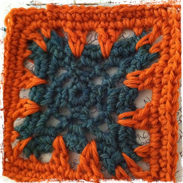 Base motif in the crochet pattern set by Knot By Gran'ma