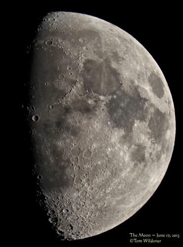 sky moon june night canon telescope astrophotography astronomy nightsky universe solarsystem meade 2013 tomwildoner
