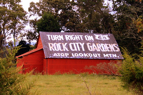See Rock City: Turn Right on US64