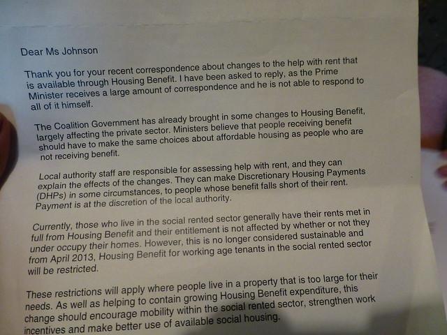 Spare Room Housing Benifit Pensioner