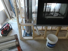 Wood ZC Fireplace Install
