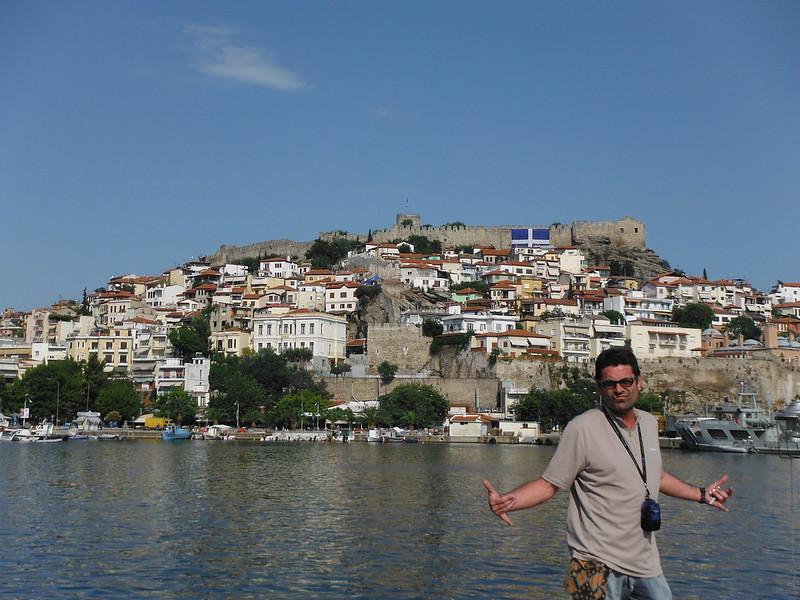 Ciudad de Kavala, Grecia.