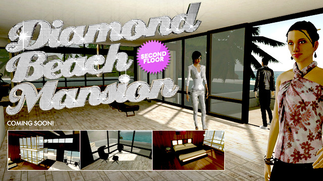 PlayStation Home: Diamond Beach Mansion