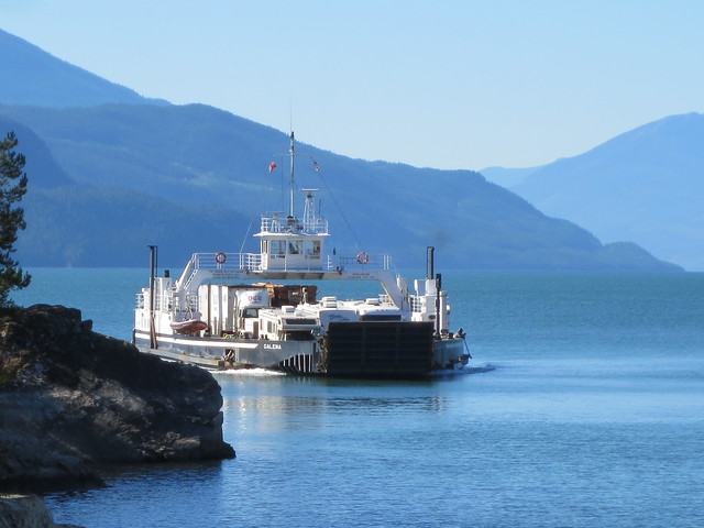 The D.E.V. Galena in the offing