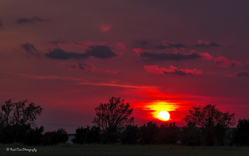 sunset sun oklahoma weather clouds landscape cloudformations canonef24105mmf4lisusm nikviveza topazclarity canont3i