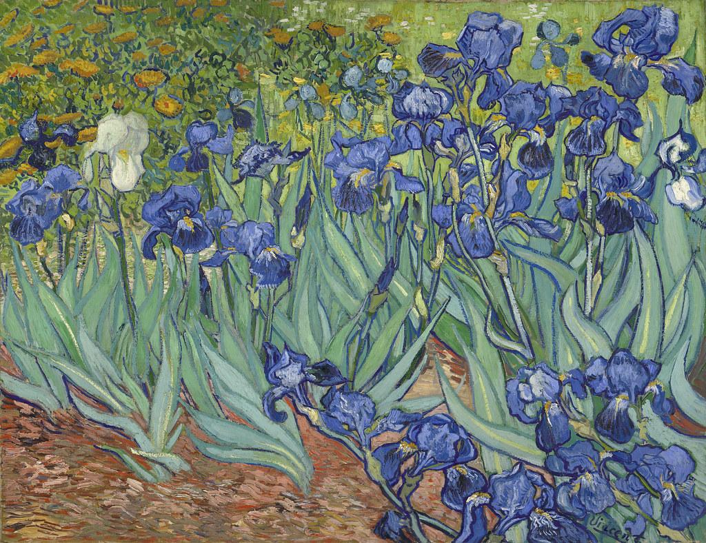 Irises; Vincent van Gogh